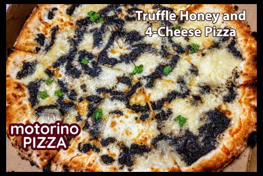 Truffle Honey and 4-Cheese Pizza by Motorino Pizza