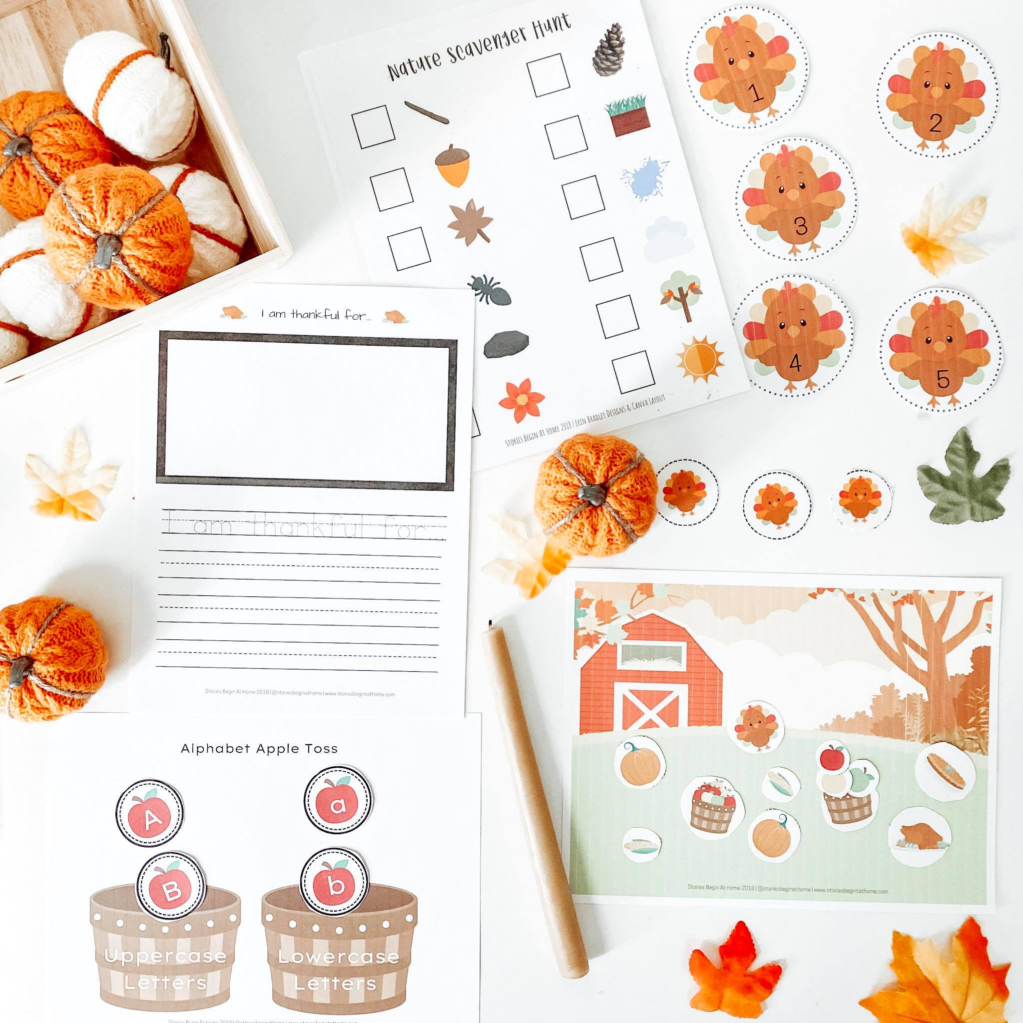 Thanksgiving Printable Activities Amp Free Scavenger Hunt