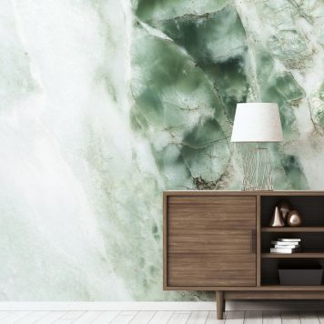 Wallpaper | Marble Green