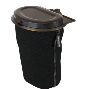 Flextrash Bin 3 L + Seatclips | Black