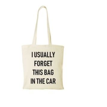 Tote Bag | I Usually Forget