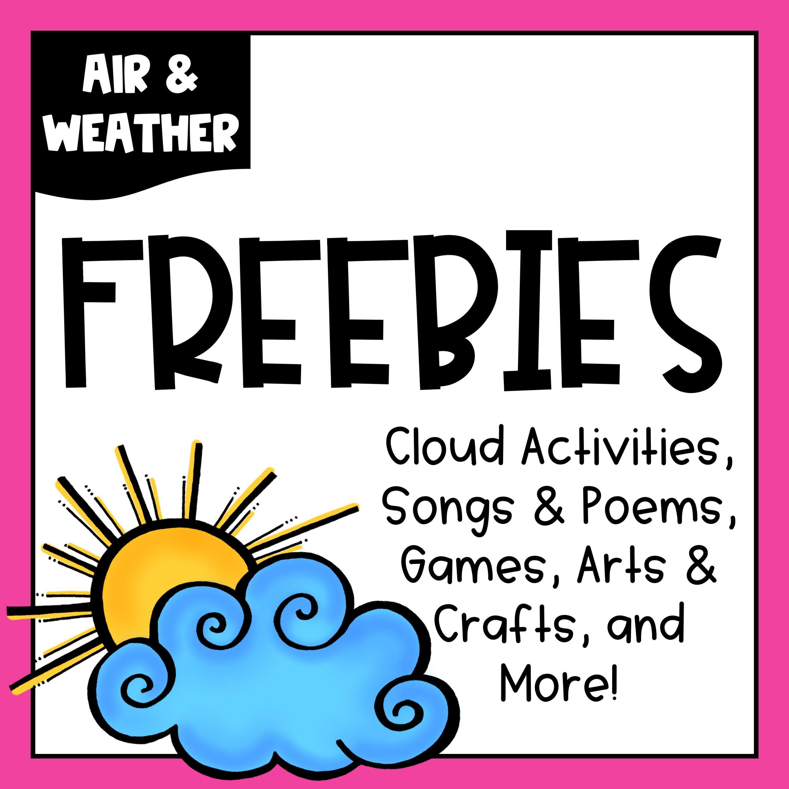 hight resolution of Air \u0026 Weather Freebies