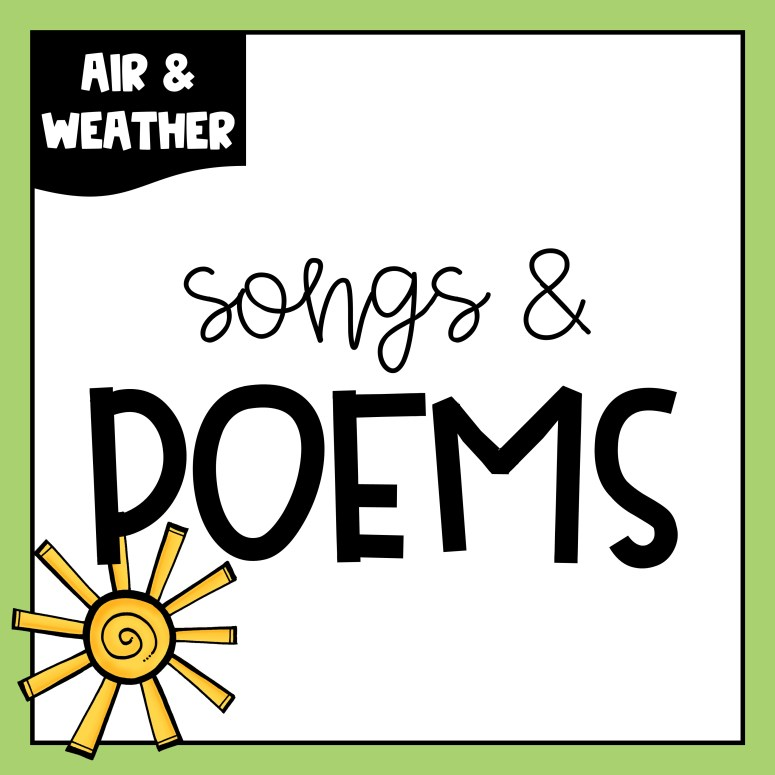 Air & Weather Freebies, Day 3 – Songs & Poems