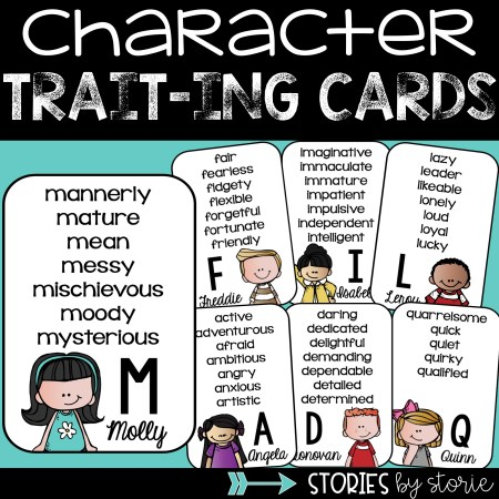 You can use these Character Trait-ing Cards to help students identify character traits while reading.