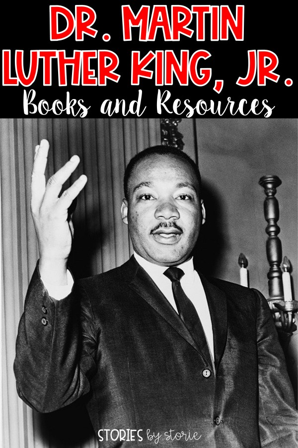 In January, we will all take a day to honor the work of Dr. Martin Luther King, Jr. However, is a day really enough time to honor his work and legacy? I don't think so! I know how challenging it can be to fit everything in, but it is important to make time. I want to share a few books and resources you can share with your students about Dr. Martin Luther King, Jr.