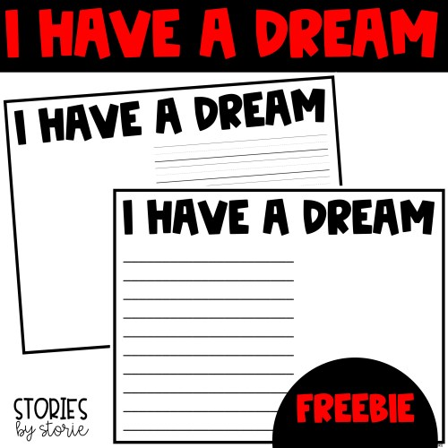 After learning about the dream Dr. Martin Luther King, Jr. shared with the world, your students can record their own hopes and dreams with this freebie. After writing, just add a student photo!