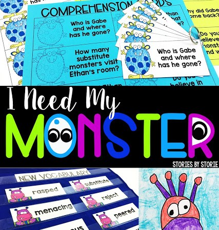 I Need My Monster Activities