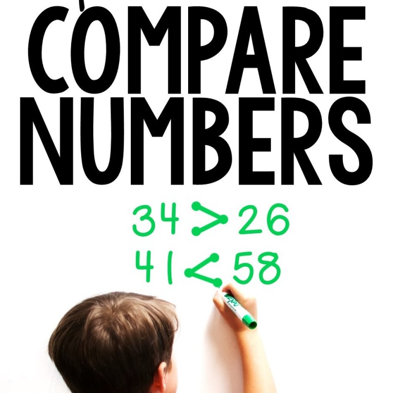 Comparing Numbers Using >,