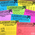 As you start another school year, I'm sure you have a million and one things planned to do with your students. One thing you should definitely take the time to do is set goals with your classroom. They really help set a purpose for ALL of your students and help with building classroom community.