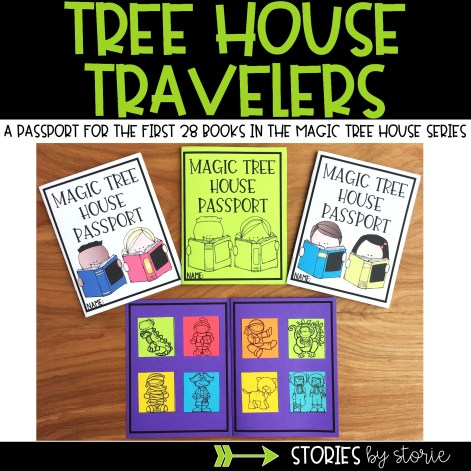 Tree House Travelers - A Magic Tree House Passport Booklet