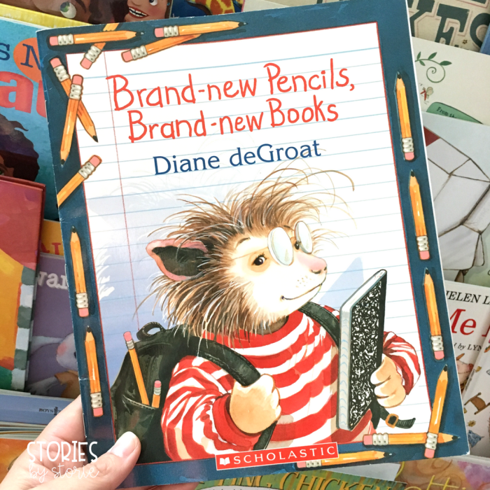 Brand-New Pencils, Brand-New Books by Diane deGroat is a great book to read to first graders on the first day of school. Like Gilbert, they will learn that things are not always the same as they were in Kindergarten.