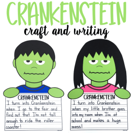 Crankenstein Craft and Writing