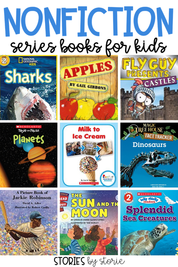 Nonfiction text surrounds us in our everyday lives, but often younger students struggle to find nonfiction texts that they can both read and comprehend easily. Not only am I going to share some of my favorite nonfiction series books for kids, but I'm also going to give you a peek into some of these books so you know what to expect!