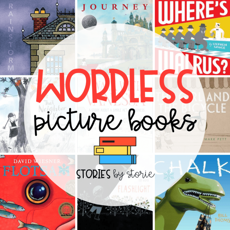 Wordless Picture Books for Kids