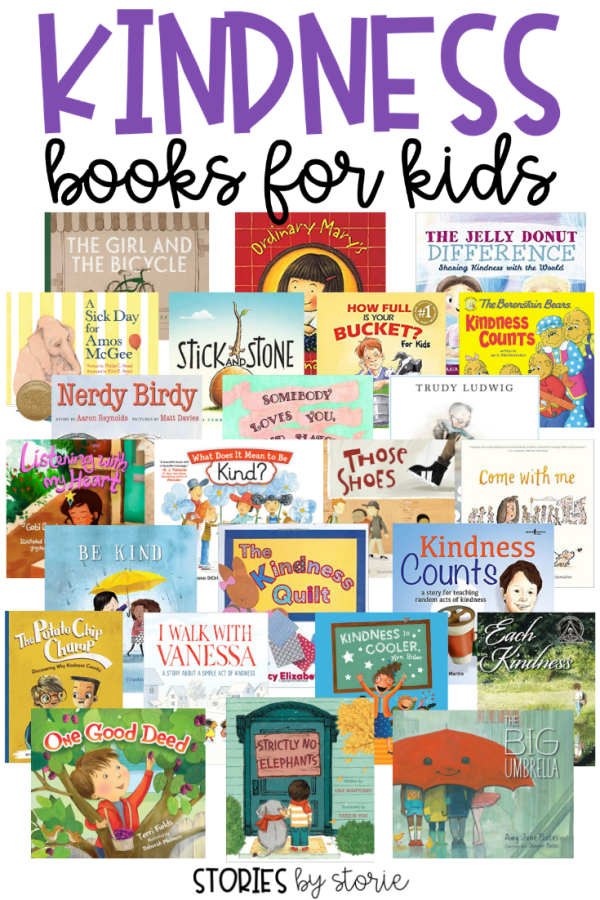 As teachers, we want our students to be kind to others. Books can help us send the message that kindness is important and something we value. Through these books, we can show students how to see the good in others, how to be there for other people, how to help others feel included, how to be kind even when it is hard, and how spreading kindness can come back around. These are some of my favorite kindness books for kids.
