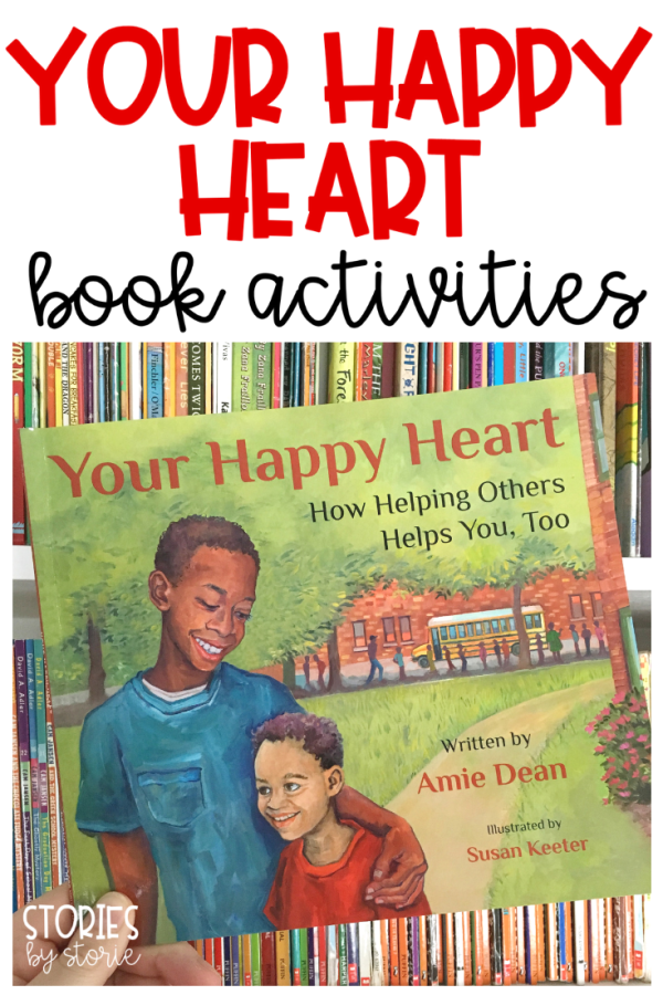 Your Happy Heart by Amie Dean is a story about how helping others helps you, too. Here are some activities you can pair with this story.