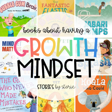 Here are some of my favorite growth mindset books for kids to help start a conversation about taking risks, dealing with failure, and having persistence through it all.