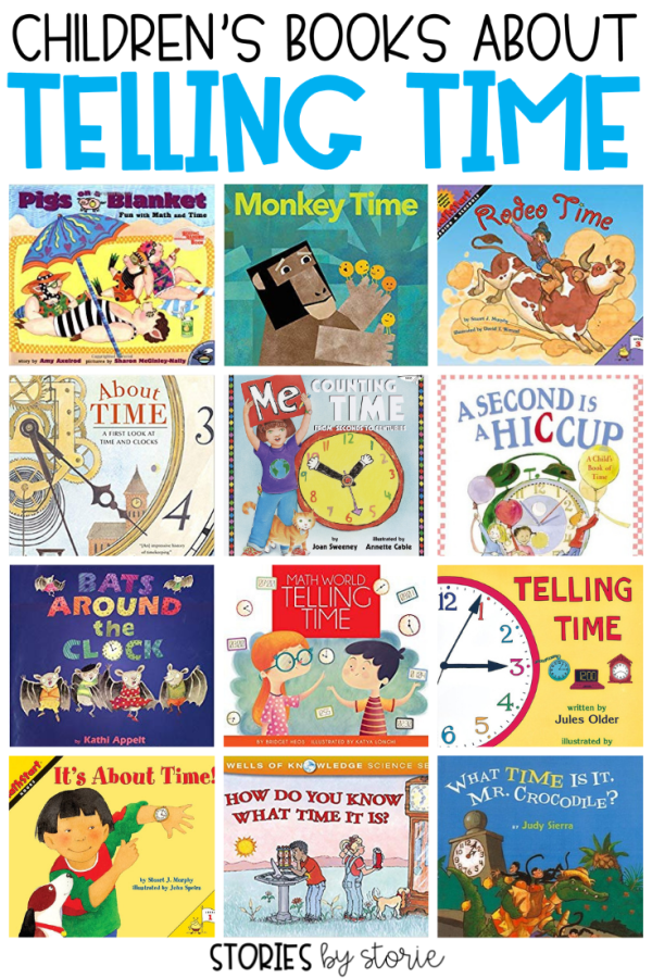 Teaching children to tell time can be tricky! Whether you are teaching children to tell time on the clock or with a calendar, picture books can help! Here are some great children's books about telling time.