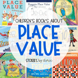 It is so important for kids to have a strong understanding of place value because it is tied to so many math skills. One of the ways you can help children understand place value is through picture books. Here are some great children's books about place value.