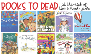 The end of the school year can be filled with a variety of emotions. You are bound to find students who feel joy, sadness, and even fear about the school year ending. I always turn to books to help students cope with whatever they are feeling in that moment. Here are several books your students might enjoy at the end of the school year