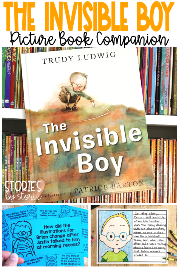 The Invisible Boy is a story about compassion, inclusion, and the power of kindness. In this story, Brian feels that he is invisible to his teacher and his peers. But when he goes out of his way to make Justin, the new boy feel welcome, Justin helps Brian feel included and seen by all. Here are some activities you can pair with The Invisible Boy.