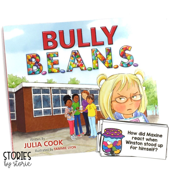 These discussion questions will help guide your students while reading Bully B.E.A.N.S. by Julia Cook.