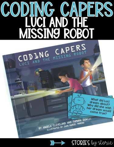 This resource contains discussion questions and two coding activities to pair with Coding Capers: Luci and the Missing Robot.