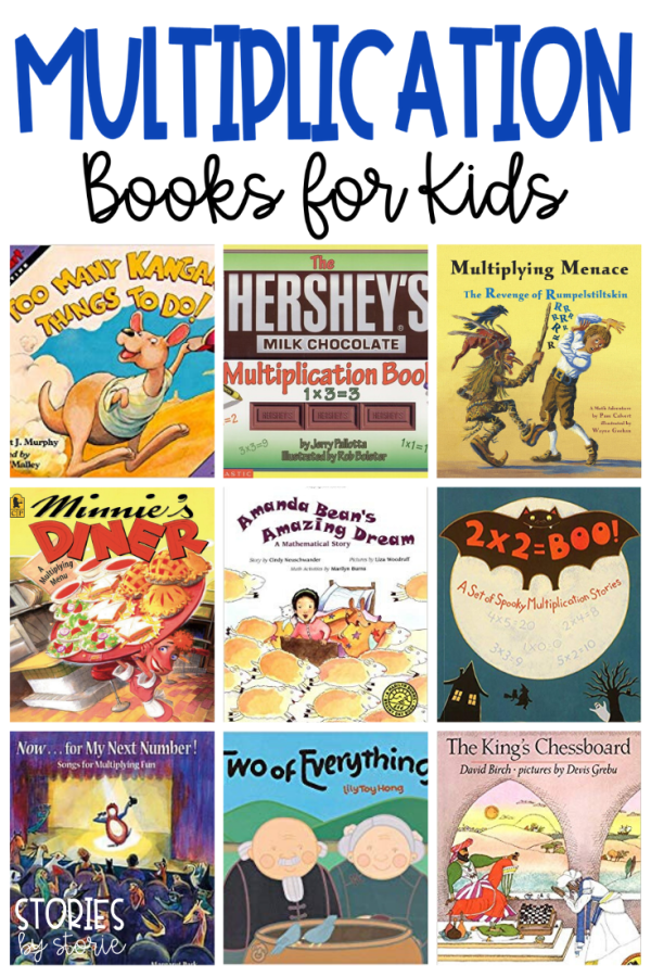Are your students ready to tackle multiplication? Whether you are teaching equal groups, repeated addition, arrays, or just trying to help students understand multiplication, children's books are a great way to bring math concepts to life. Here are some great multiplication books for kids.