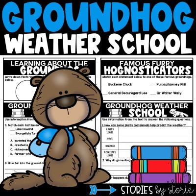 This mini book companion for Groundhog Weather School by Joan Holub contains questions, matching activities, and a graphic organizer to help guide your students through the text.