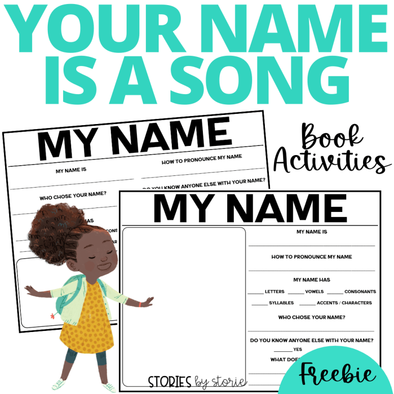 Your Name is a Song Activities