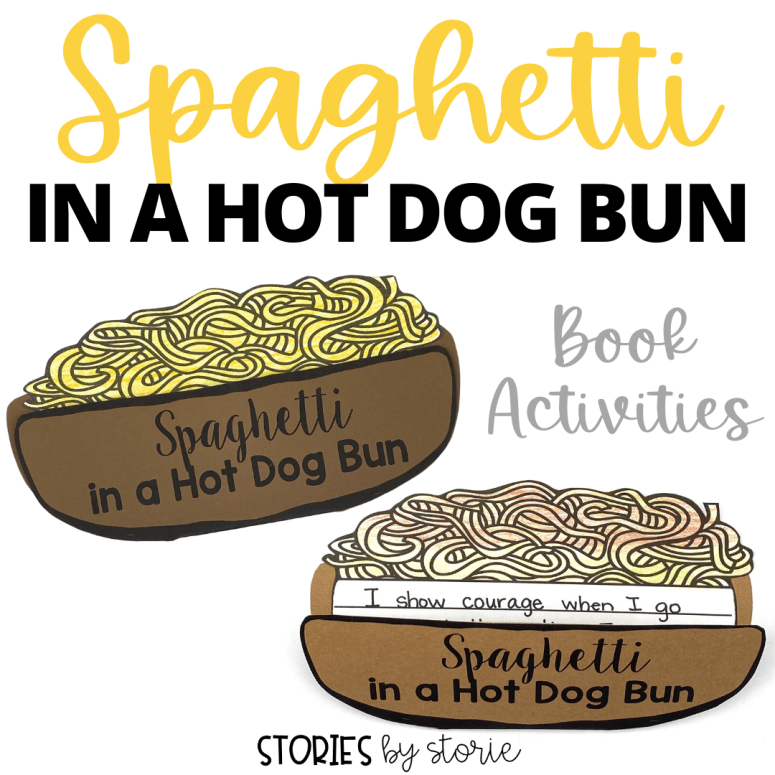 Spaghetti in a Hot Dog Bun Activities