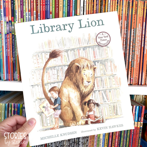Library Lion is a great book to share at the beginning of the year. Not only will this book help start a conversation about library rules and caring for books, but kids will absolutely love and root for this friendly lion!