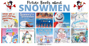 When the first signs of snow arrive, kids are ready to bundle up and head outside to enjoy their favorite activities. While you wait, grab a cup of cocoa and curl up to enjoy these books about snowmen.