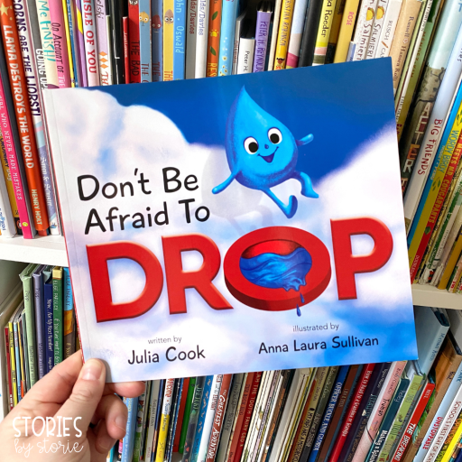 Don't Be Afraid to Drop by Julia Cook shows kids how keeping an open mind and taking on a positive perspective can help us step outside of our comfort zone.