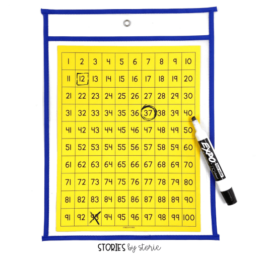 Working with the hundreds chart doesn't need to be boring. Keep your students on their toes by using riddles and clues to find mystery numbers on the chart.