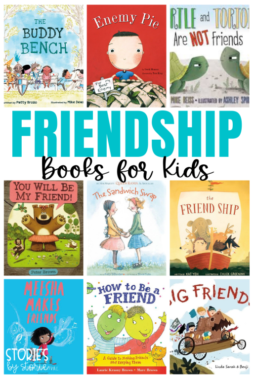 Friendships are an important part of childhood. They teach our children about kindness, cooperation, empathy, sharing, and more. But friendships don't come easily for every child. That's when books can help. Here are some of my favorite friendship books for kids. These stories help children learn how to be a good friend, how to include others, and how to see things from another person's perspective.