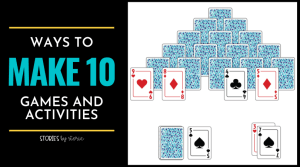 Making ten is a key building block that helps students mentally add bigger numbers as they get older. So how do we ensure kids know all of their tens partners or ways to make 10? We practice! Here are some of my favorite games and activities for making ten.