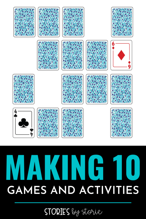 Making ten is a key building block that helps students mentally add bigger numbers as they get older. So how can we make sure kids know all of their tens partners or ways to make 10? We practice! Here are some of my favorite games and activities for making ten.