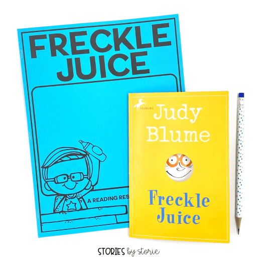 This Freckle Juice book companion contains comprehension questions for each chapter, vocabulary activities, a sequencing activity, a book quiz, and graphic organizers to help guide your students through the book.