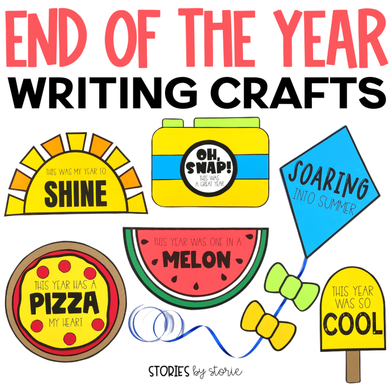 End of the Year Writing Crafts
