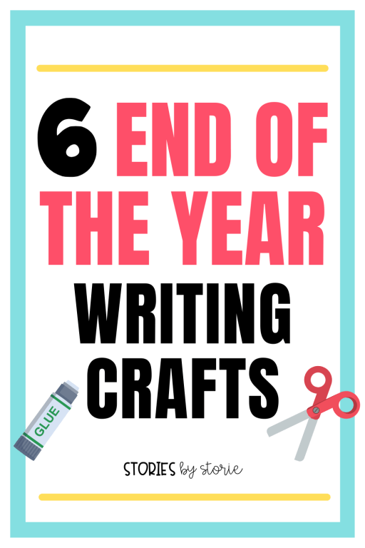Finish the school year in a fun way with these end of the year writing crafts! These are a great tool to use as students reflect on the school year and get ready for summer break.