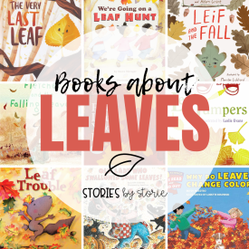 One of my favorite things about the transition from summer to fall is watching the leaves change colors. If you're ready to bring the outdoors indoors, try sharing these leaf books for kids. These will be a great addition to your fall book collection.