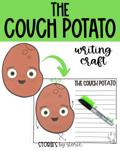 After reading The Couch Potato by Jory John and Pete Oswald, your students can bring the character to life with this writing craft. There are several prompts to choose from, but students can always choose their own.