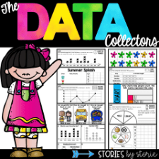 Graphing, Data, and Surveys Pack