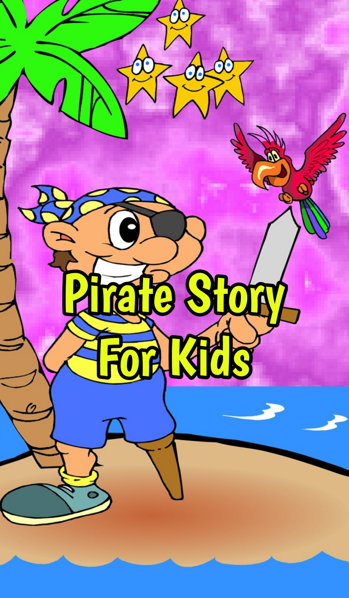 Bedtime Pirate Story For Kids