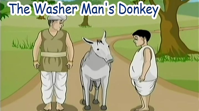 Washerman's Donkey Panchatantra Story in English