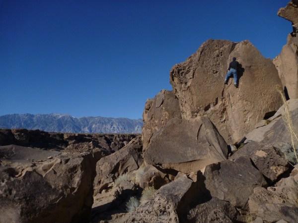 Bishop Climbing