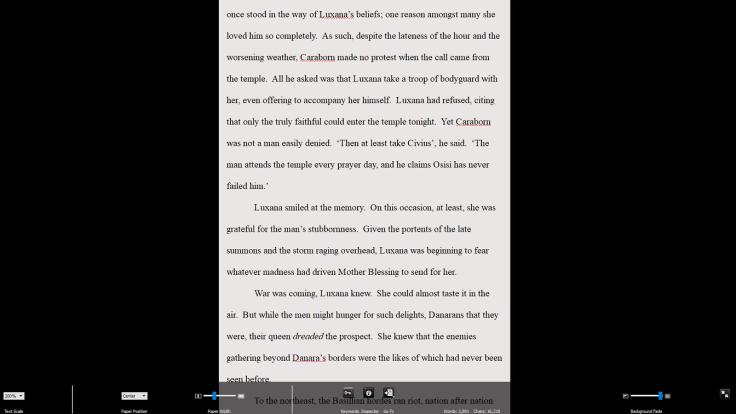 Scriv - Full Screen