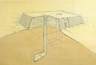 The mastaba tombs A