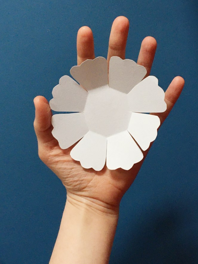 Paper flower petal layer.